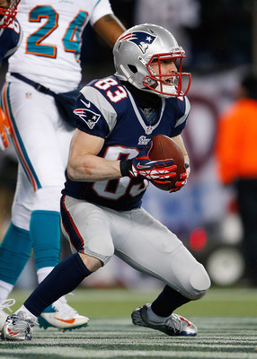 Wes Welker has 1,354 yards receiving this year.