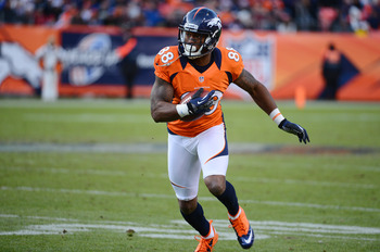 Demaryius Thomas had 1,434 yards this season.
