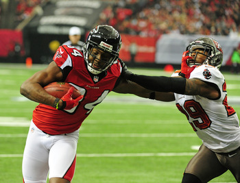 Roddy White has 1,351 yards on the season.