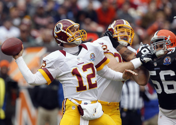 After a rocky start, Kirk Cousins settled in, and the Redskins played their most complete game of the season, rolling to a 38-21 win against the Browns.