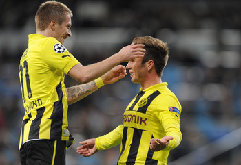 Reus and Gotze, two of Germany's brightest young stars
