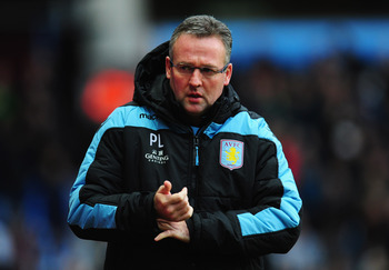 Villa fans will hope Paul Lambert has a trick or two up his sleeve