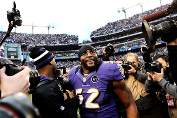 The next game could be Ray Lewis' last.