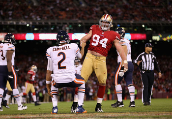 The 49ers need star defensive end Justin Smith back in the lineup against the Packers.