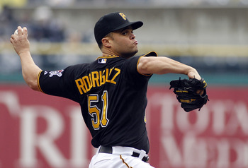 Pirates pitcher Wandy Rodriguez.