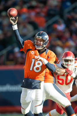Peyton Manning has led the Broncos to 11-straight wins.