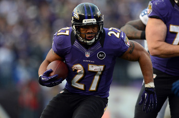 Ray Rice is one of the best running backs in the league, but he faces a tough test in the Broncos.