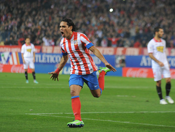 As with Cavani, Falcao would stabilize City's striking force.