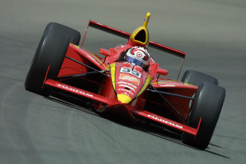 Boy, does this bring back memories (Stewart in 1999 Indy 500).