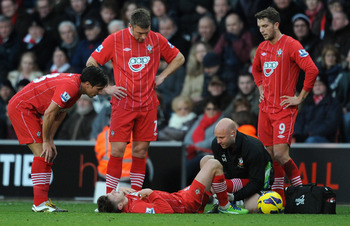 Adam Lallana may miss another month with his knee injury sustained in December.