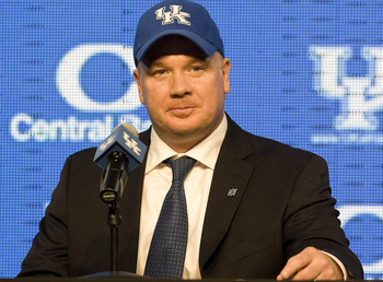 Kentucky head coach Mark Stoops.