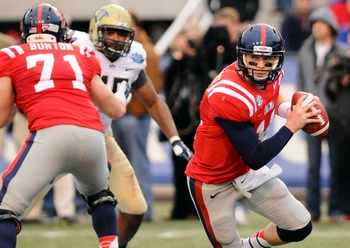 Ole Miss quarterback Bo Wallace.