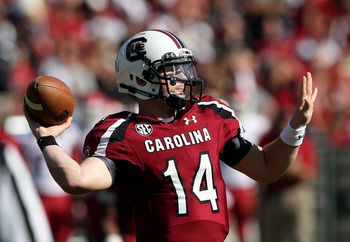 South Carolina quarterback Connor Shaw.