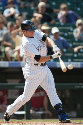 Shortstop Josh Rutledge can hit for power and speed.