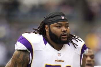 Right tackle Phil Loadholt highlights Minnesota's 2013 crop of free agents.