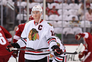 The leadership of Jonathan Toews is very valuable to the Blackhawks.