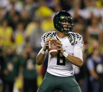 OL Hamani Stevens will be charged with protecting QB Marcus Mariota