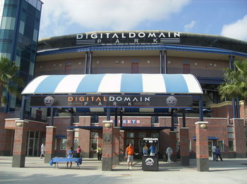 Mets Stadium was renamed after Digital Domain lost the naming rights. Photo courtesy landjbaseballjourney.wordpress.com