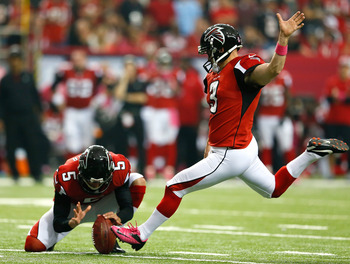 Matt Bryant has kicked 33 field goals this year.