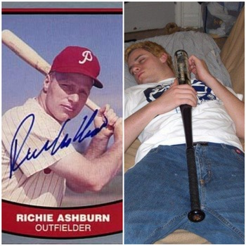 Images via SportsMemorabilia & MySpace's scoobaksteve