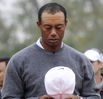 Alone with his thoughts, Tiger Woods has never been warm and fuzzy.