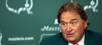 Raymond Floyd had plenty of opportunities to intimidate, even on the biggest stages.