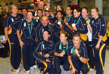 The Australian women are defending World Cup Champions.