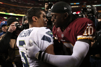 RGIII and Russell Wilson met for the first of what is sure to be many playoff matchups in the coming years