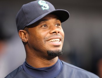Ken Griffey Jr's famous smile stayed with him till the day he finally retired in 2010.