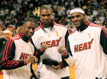 Dwyane Wade, Chris Bosh and LeBron James are making the 2003 NBA draft class look like one of the best ever.
