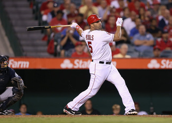 Los Angeles Angels 1B Albert Pujols