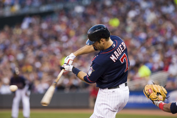 Minnesota Twins 1B/C Joe Mauer