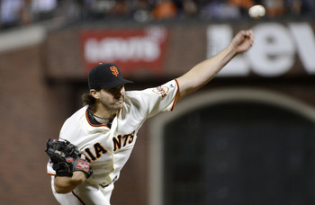 San Francisco Giants SP Barry Zito