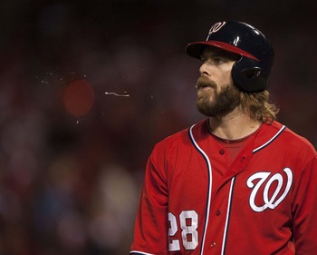 Washington Nationals OF Jayson Werth