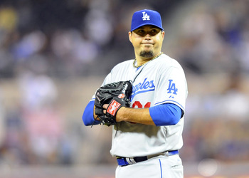 Los Angeles Dodgers SP Josh Beckett