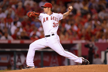 Los Angeles Angels SP C.J. Wilson