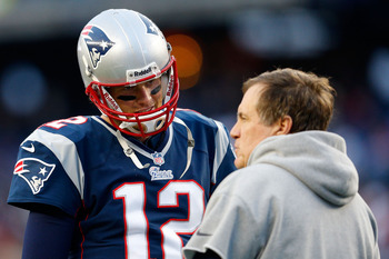 Bill Belichick and Tom Brady are going back to the AFC Championship Game again.
