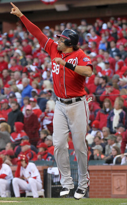 The Nats can afford to lose Michael Morse's bat.