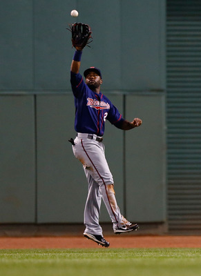 Denard Span is the center piece of a very good defensive outfield.