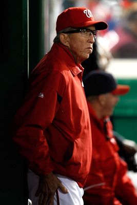 Davey Johnson has a loaded team, with one goal in mind.