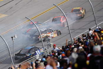 Who can forget the 24-car pileup at Talladega this past October?