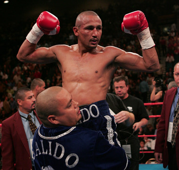 Orlando Salido basking in the glow of yet another victory.