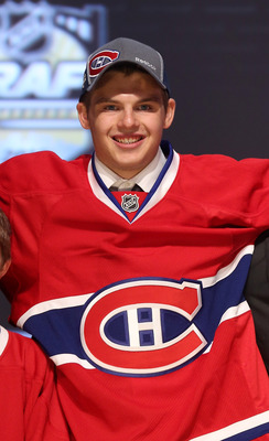 Alex Galchenyuk of the Montreal Canadiens.