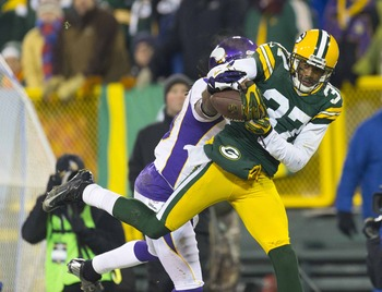Green Bay Packers free agent cornerback- Sam Shields