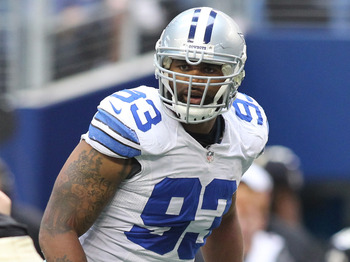 Dallas Cowboys free agent linebacker- Anthony Spencer