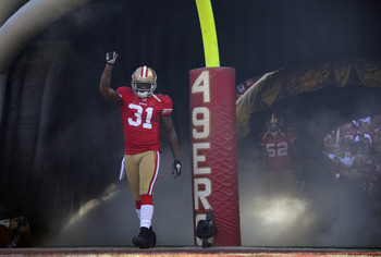 Donte Whitner was named to the Pro Bowl as the starting strong safety.