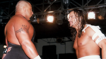 Taz's (left) Finest Moment Finally Facing Sabu (Image Obtained From WWE.com)