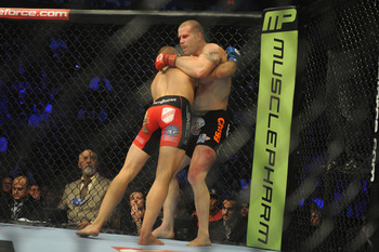 Saffiedine's relentless leg kicks slowed down Marquardt in a huge way, getting him the decision.