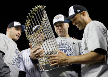 Pettitte, Jeter and Mo in 2009.
