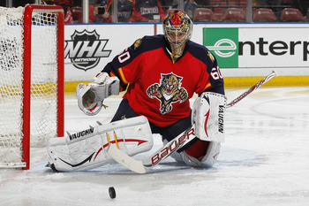 Jose Theodore of the Florida Panthers.